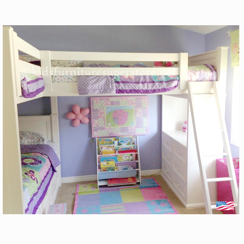 Item # Eli Tri-Bunk bed