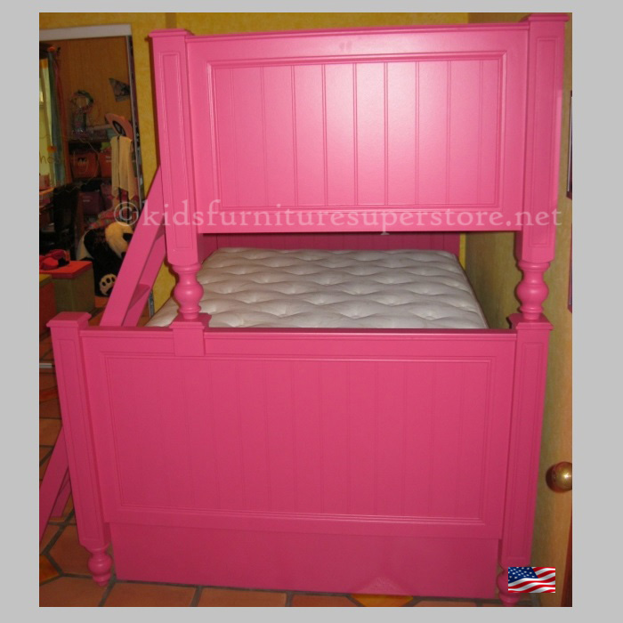 Item # Twin over full Harper bunk bed