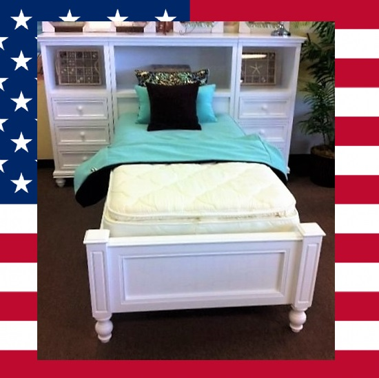 Item # US0009 Wall unit twin bed
