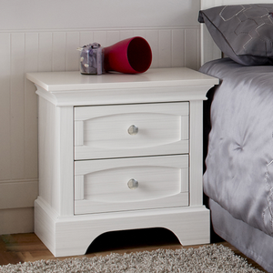 Item # 0009NS - Finish: Vintage White<br><br>Available in Distressed Granite or Stone Finish<br><br>Dimensions: 24W x 18D x 24H
