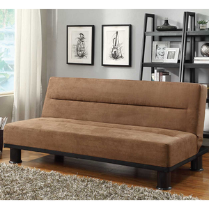 Item # 003FN Sofa Bed - Finish: Brown Microfiber<br><br>Available in Grey Microfiber<br><br>Dimensions:<br><br>Sofa: 70.5 x 33.5 x 30.5H<br><br>Bed: 70.5 x 42.25 x 15.5H