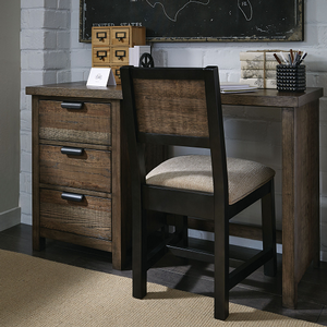 Item # 003CHR - Finish: Tawny Brown<br><br>Desk sold separately<br><br>Dimensions: