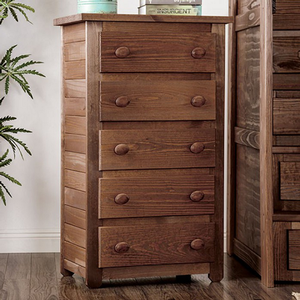 008CH 5 Drawer Chest - Finish: Mahogany<br><br>Style: Rustic<br><br>Made in the USA<br><br>Dimensions: 30