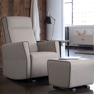 009GLR Upholstered Chair - Ottoman Sold Separately<br><br>Dimensions: 30