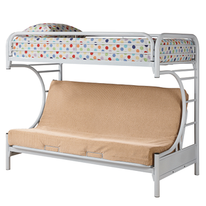 Item # 011MLB Twin Over Full Futon Bunk Bed
