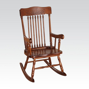 012KCH Tobacco Finish Youth Rocking Chair - Finish: Tobacco<br><br>Dimensions: 24