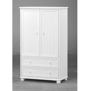 015AM Junior Armoire in White