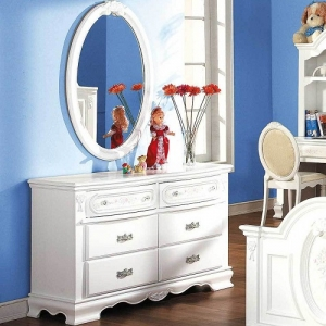 Item # 069DR Dresser - Finish: White<br><br>Mirror sold separately<br><br>Dimensions: 52