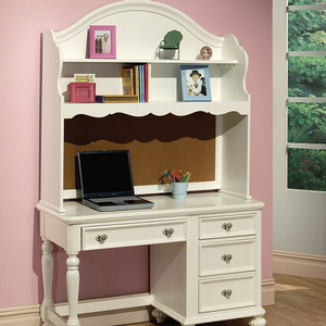 Item # 016DR Desk Hutch - Finish: White<br><br>Desk sold separately<br><br>Dimensions: 48