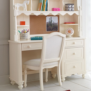 Item # 016D Desk - Finish: Ivory<br><br>Hutch sold separately<br><br>Chair sold separately<br><br>Dimensions: 48W x 20D x 30H