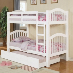 0065TR Trundle  - Finish: White<br><br>Trundle Sold Separately<br><br>Dimensions: 75