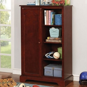 Item # 028AM Closet Storage - Finish: Cherry<br><br>Available in Blue & Gray<br><br>Dimensions: 32 1/8