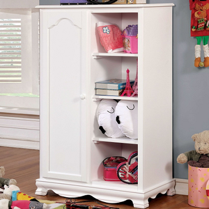 Item # 030AM Storage Closet - Finish: White<br><br>Available in Pink Finish<br><br>Dimensions: 32 1/8