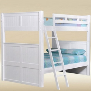 Item # A0004FF Full/Full Bunk Bed in White