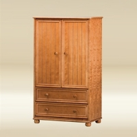 Item # 022AM Armoire in Pecan