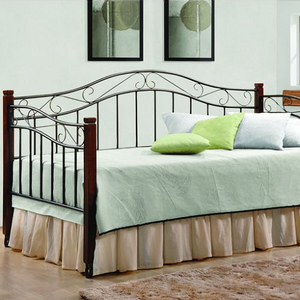 033MDB Twin Daybed - Finish: Black<br><br>Slat Kit Included<br><br>Dimensions: 79.50
