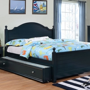 Item # 040FB Full Size Bed in Blue