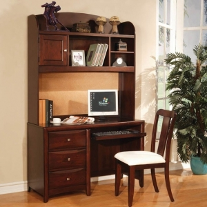 Item # A0012D - Finish: Espresso<br><br>*Hutch sold separately*Dimensions: 48