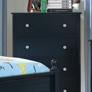 045CH 4 Drawer Chest in Blue - Finish: Blue<br><br>Available in Blue & Gray<br><br>Dimensions: 29