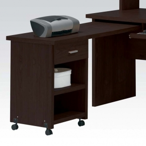 Item # 109D Side Desk with Drawer - Finish: Espresso<br><br>Dimensions: 47