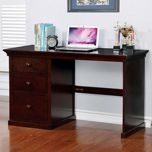 Item # 046D Small Desk w/ 3 Drawers in Dark Walnut - Finish: Dark Walnut<br><br>Available in Large Size<br><br>Dimensions: 37