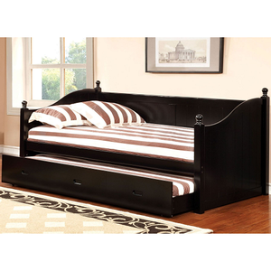 051DB Daybed W/ Twin Trundle - <b>Twin Trundle Included<br><br></b>Cottage Style<br><br>Solid Wood<br><br>Twin Size Daybed<br><br>Slat Kit Included<br><Br>