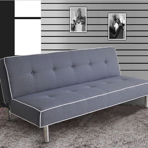 Item # 051FN Adjustable Sofa - Finish: Gray<br><br>Dimensions: Sofa- 71L x 37D x 31H<br><br>Bed- 71L x 43D x 15H