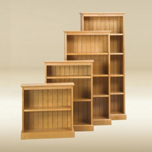 Item # 052BC Bookcase with Bead Board - Birch Finish