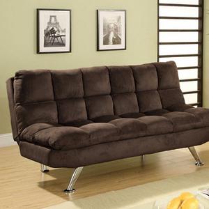 Item # 052FN Sofa Bed - Finish: Brown<br><br>Dimensions: Sofa: 70 1/2W x 36D x 38 1/4H (Seat HT: 20, SEAT DP: 20)<br><br>Bed: 70 1/2W x 48D x 19 1/2H