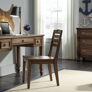 Item # 052CHR Desk Chair - Finish: Cabin Brown<br><br>Desk sold separately<br><br>Dimensions: 18W x 21D x 34H
