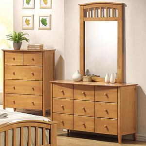 054M Mirror - Finish: Maple<br><br>Dresser Sold Separately<br><br>Dimensions: 30
