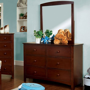 066M Mirror - Finish: Cherry<br><br>Dresser Sold Separately<br><br>Dimensions: 33 3/4