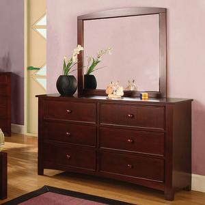 Item # 070M Mirror - Finish: Cherry<br><br>**Dresser Sold Separately**<br><br>Dimensions: 32 1/4