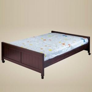 0513 Full Size Bed in Walnut