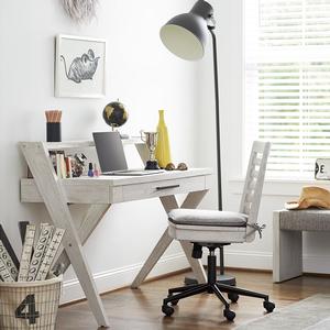 Item # 080CHR Desk Chair - Finish: Sand / Sea Salt<br><br>Desk Sold Separately<br><br>Dimensions: