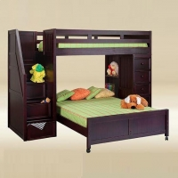 LB009 Isaac Twin over Twin Loft bed - *Bottom bed is optional*