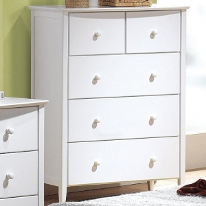 Item # 218CH Chest - Finish: White<br><br>Available in Maple & Dark Walnut Finish<br><br>Dimensions: 35