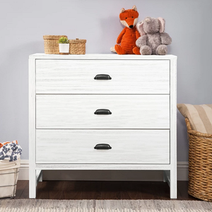 Item # 092CHT - Finish: Cottage White<br>Available in Cottage Grey finish<br>Assembled Dimensions: 35.25 x 18 x 34<br>Assembled Weight: 69 lbs<br>Drawer Measurements: 30.125L x 13.375W x 4.875H
