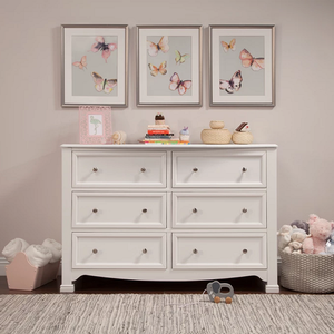 Item # 095CHT - Finish: White<br>Available in Chestnut, Grey, and Espresso.<br>Assembled Dimensions: 47 x 21.5 x 33.9<br>Assembled Weight: 110.25 lbs<br>Drawer Measurements: 17.5L x 15.125W x 5H
