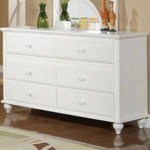 Item # 117DR 6 Drawer Dresser - Dimensions: 54