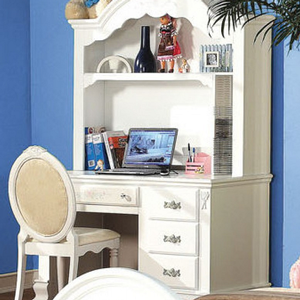 Item # 104D Student Desk - Finish: White<br><br>Hutch Sold Separately<br><br>Dimensions: 52