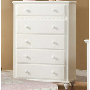 297CH Chest - Finish: White<br><br>Dimensions: 36