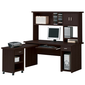 Item # 108D Computer Desk - Finish: Espresso<br><br>Dimensions: 63