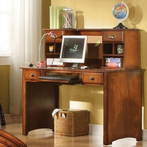 Item # 025HC Hutch - Finish: Antique Oak<br><br>Desk sold separately<br><br>Dimensions: 47