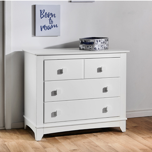 Item # 1020DR - Finish: White<br><br>DImensions: 40W x 20D x 35H
