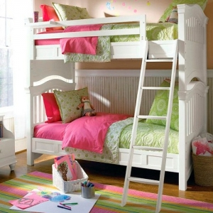 Item # A0011 Twin Over Full Bunk Bed