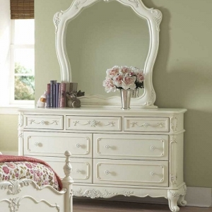 Item # 045DR 7 Drawer Antique Style Dresser - *Mirror sold separately*