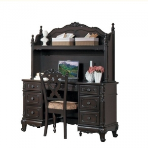 Item # 117D Writing Desk - Finish: Dark Cherry<br><br>Hutch Sold Separately<br><br>Dimensions: 50 x 24 x 30H