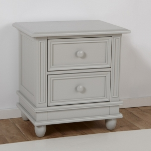 075NS 2 Drawer Nightstand