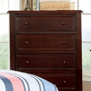 Item # 151CH 5 Drawer Chest - Finish: Dark Walnut<br><br>Available in White<br><br>Dimensions: